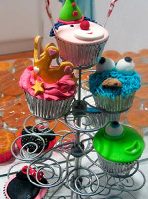Taller infantil de decoración de cupcakes Snack Market