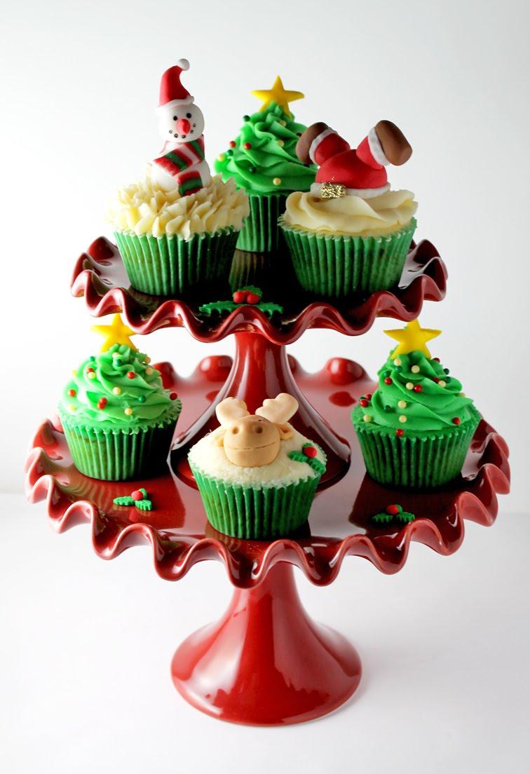 Receta cupcake de navidad snack market snack market for Decoracion en cupcakes
