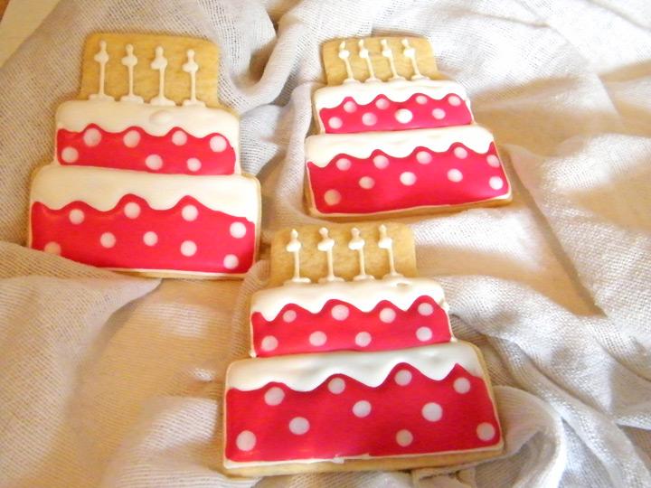 Taller infantil de galletas de fiesta