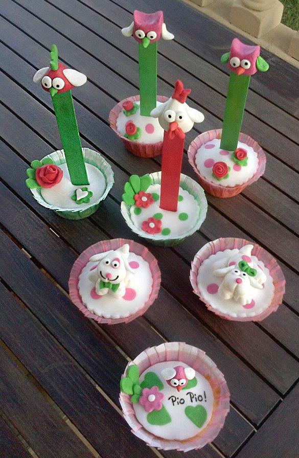 Taller Cupcakes 3D banner