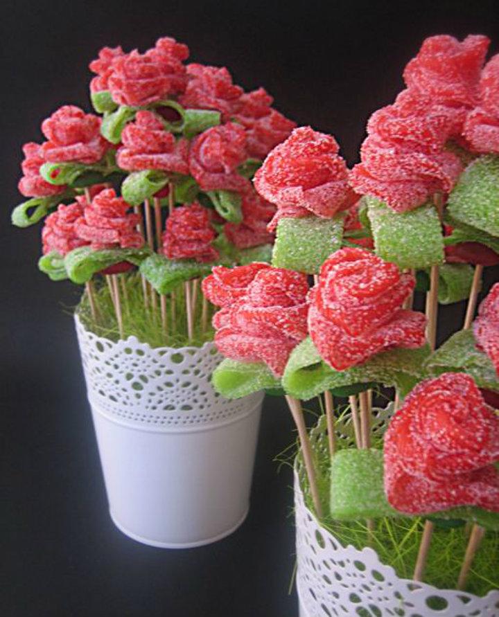 Manualidades para regalar en San Valentín Snack Market