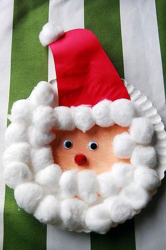 santa-claus-navidad-platos-desechables