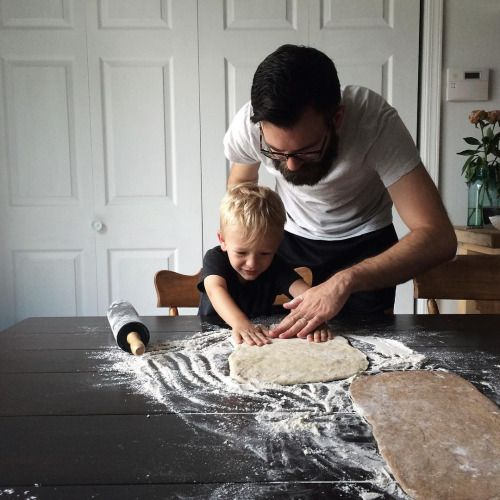 Cocina con niño