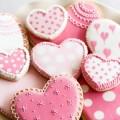 galletas de corazon rosas mallorca