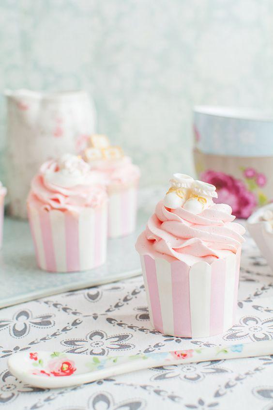 cupcakes comunion mesa dulce