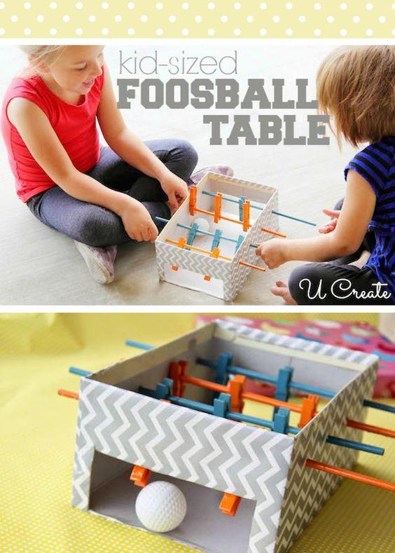 juguetes de cartón reciclaje