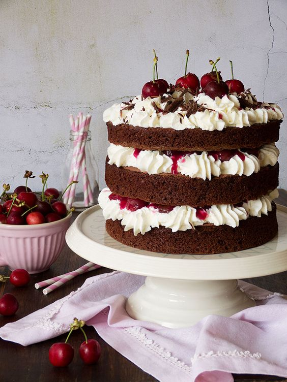 pastel selva negra