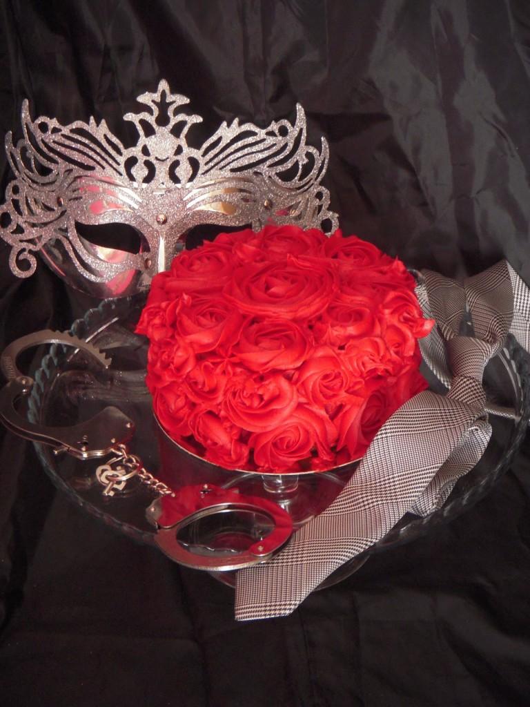 Tarta de rosas repostería creativa