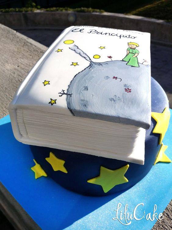 Libro tarta el principito