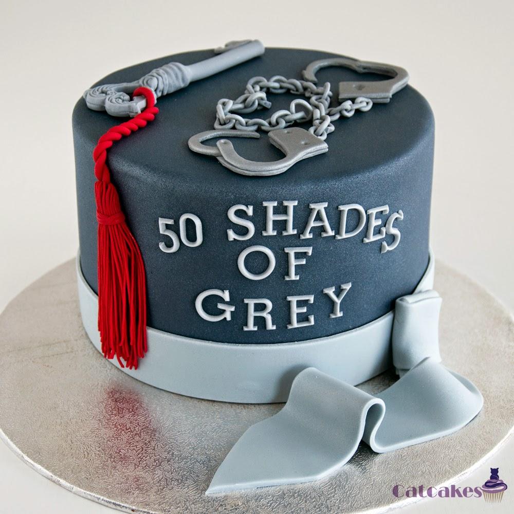 Tarta fondant 50 sombras de grey