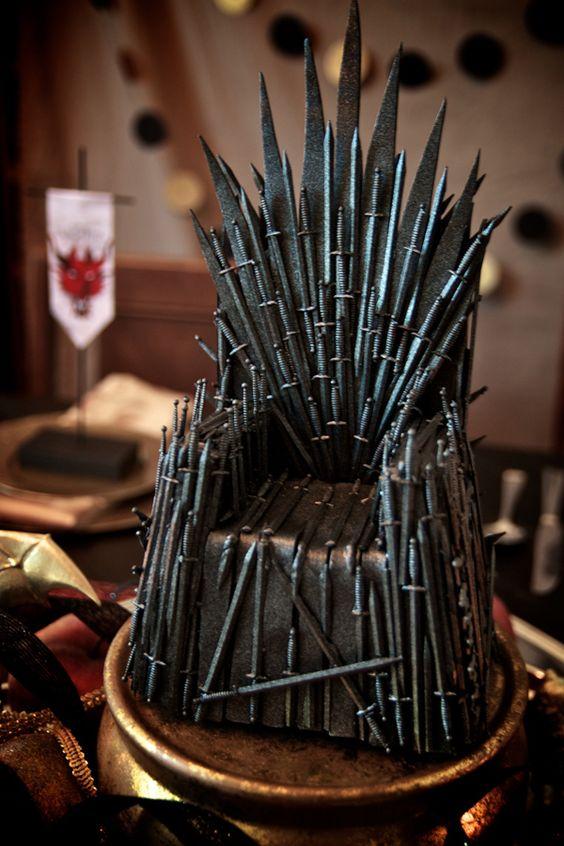 trono de hierro fondant