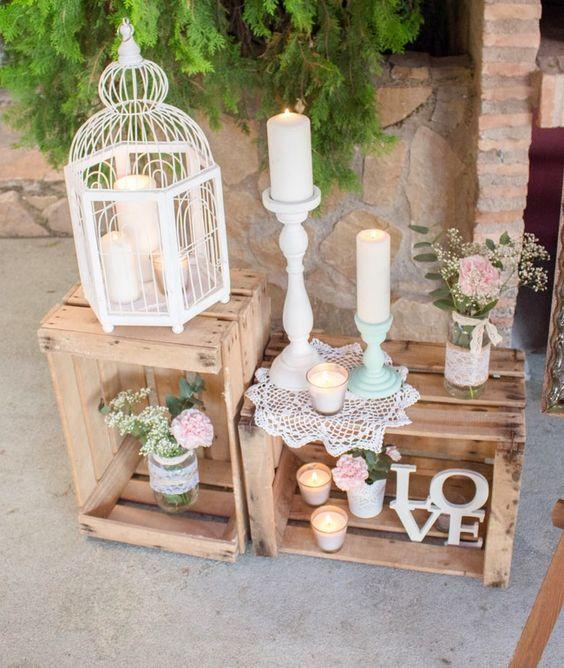 Cajas de madera para decorar snack market snack market - Cajas de madera para decorar ...