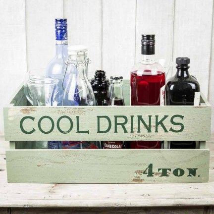 caja de bebidas