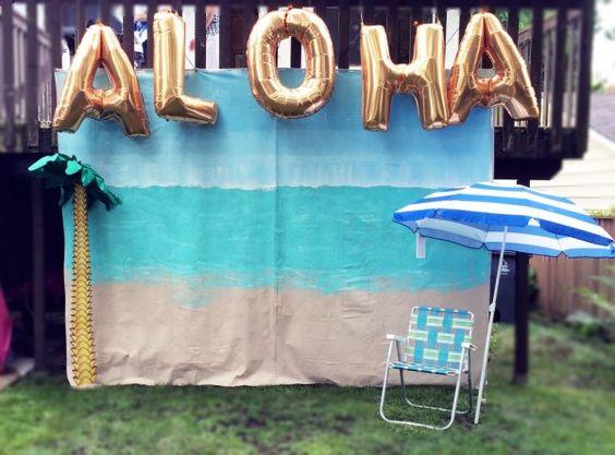photocall aloha