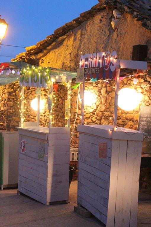 Ideas para hacer una verbena en tu terraza snack market for Ideas para construir una terraza