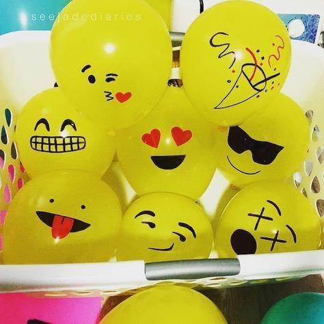 DIY emoticono party