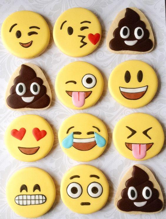 galletas de emoticonos