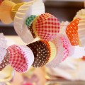 reciclar moldes de cupcakes