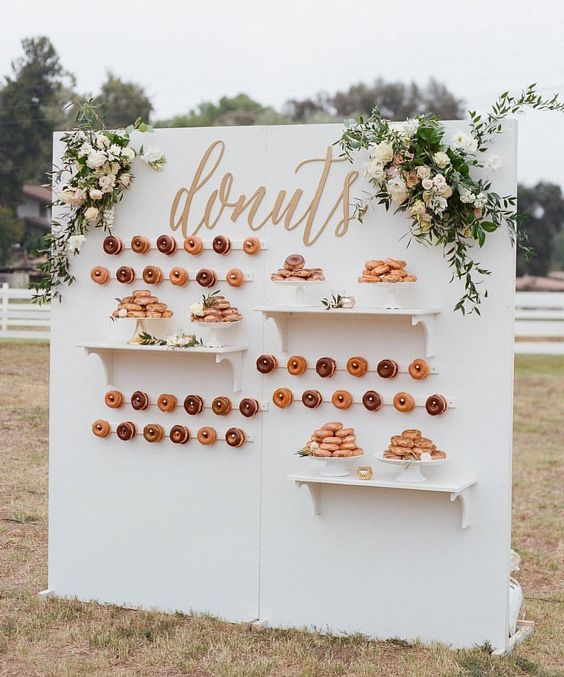 Donut Wall Pared De Donuts Tendencia 2018 Snack Market