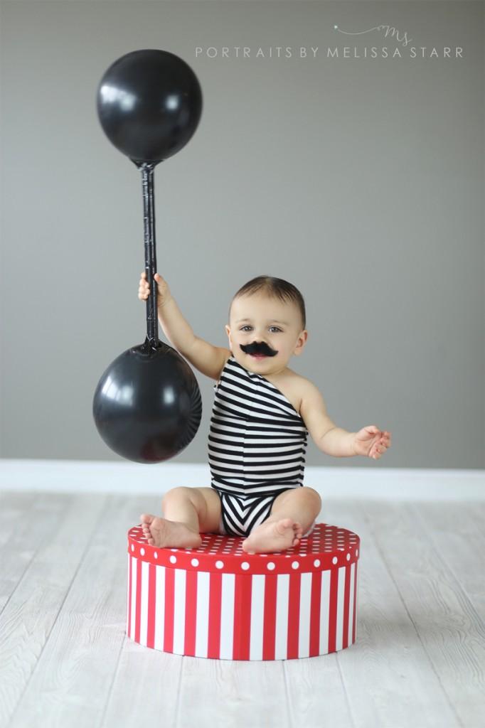 disfraces con globos forzudo