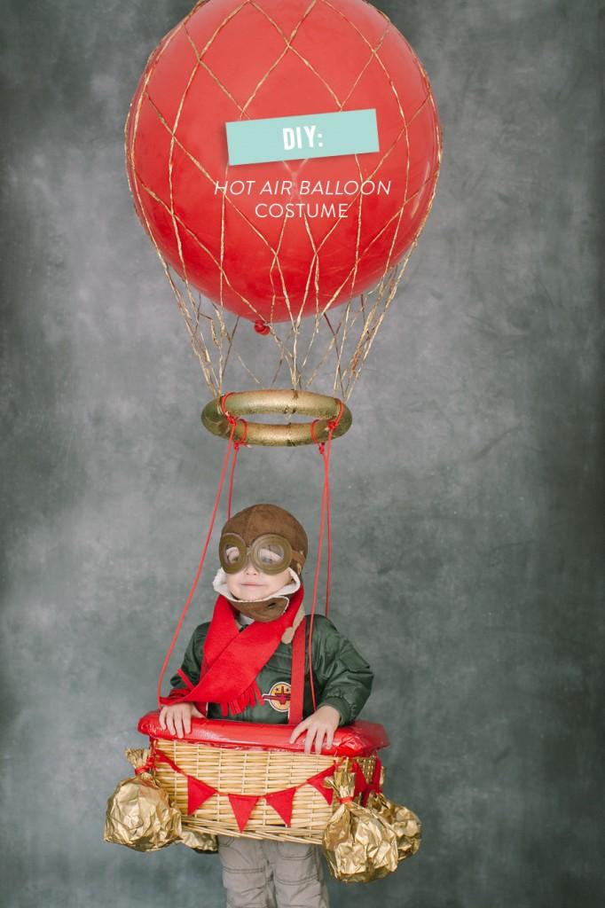 disfraces con globos aviador