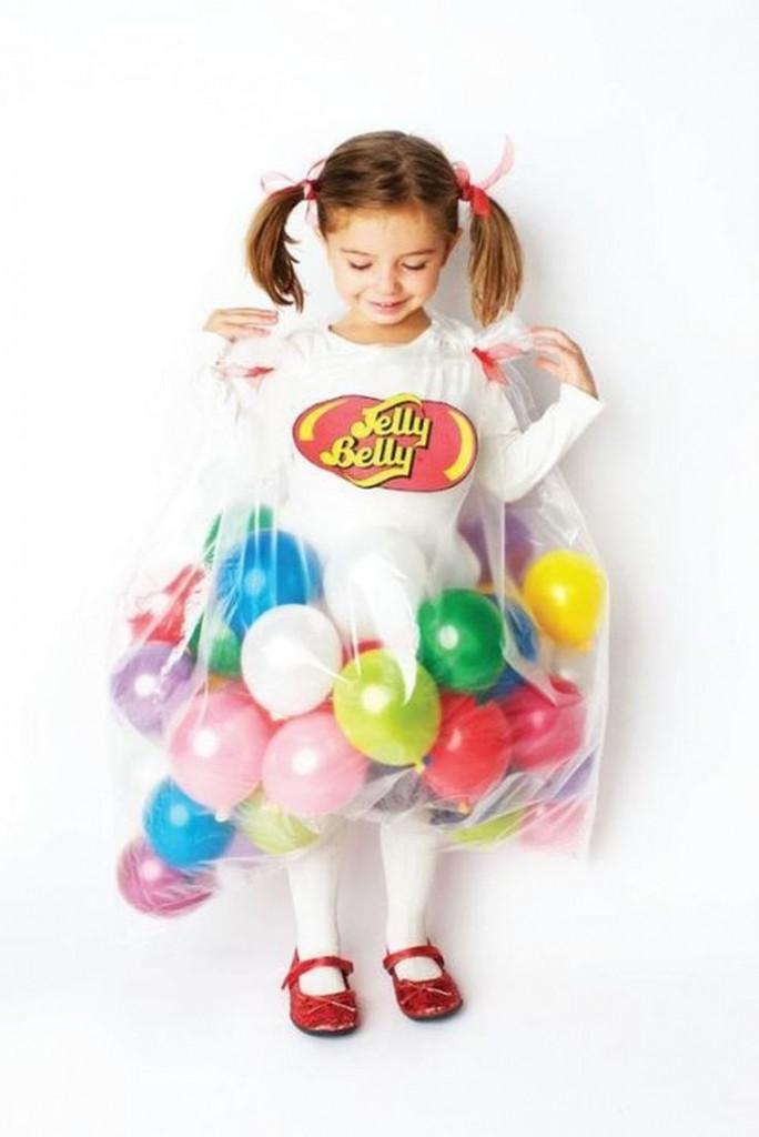 disfraces con globos caramelos