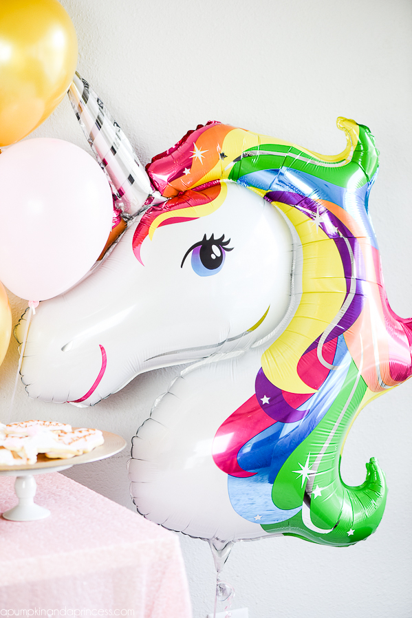 fiesta de unicornio globo