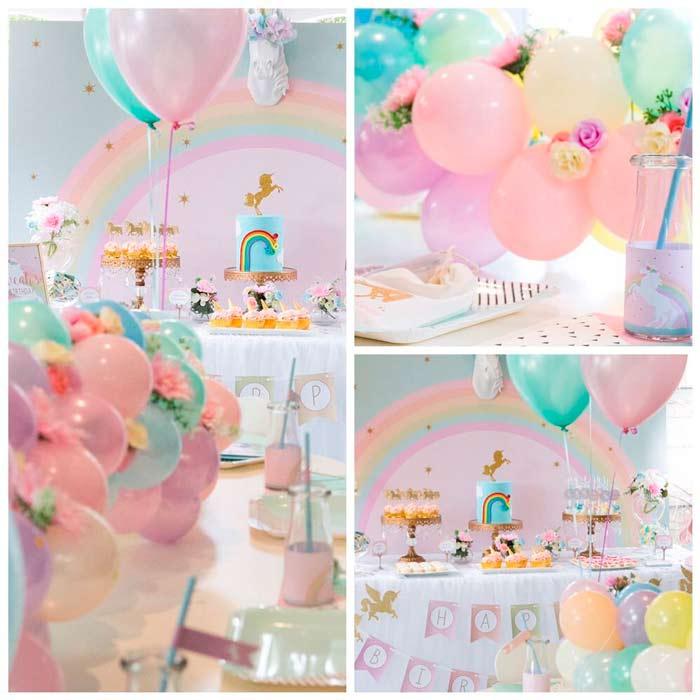 fiesta de unicornio decoracion