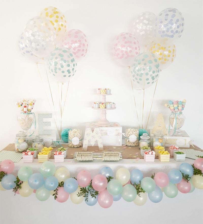 candy bar para comunion