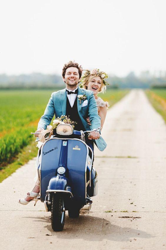 sorprender en una boda