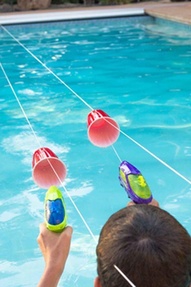 25 Unieke Ideen Over Familie Leuke Spelletjes Op Pinterest betreffende Zwembad Spelletjes Kinderfeestje