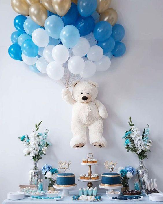 fiesta de azul