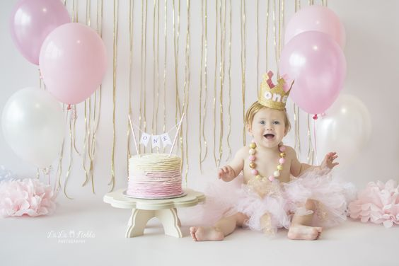 dorado cumpleaños infantil 2
