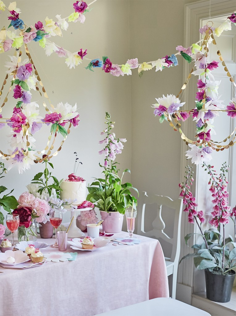 tendencias en decoración de fiestas 2019