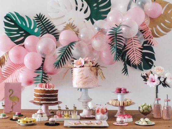 tendencias en decoración de fiestas 2019