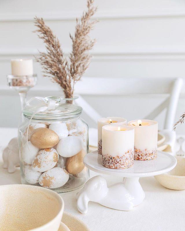 decorar una mesa de Pascua