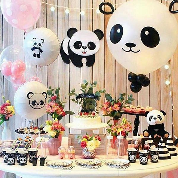 Decoración fiesta infantil Panda