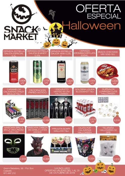 celebra halloween ofertas